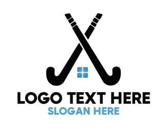 Home - Hockey Stick Homes logo design