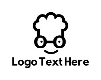 Chef - Nerd Chef logo design