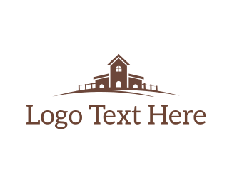 Farmhouse - Country House logo design