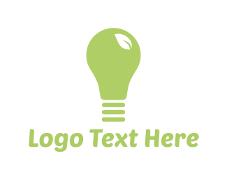 Lighting - Eco Light logo design
