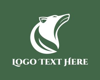 Canada - Wolf Leaf logo design