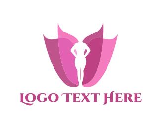 Classy - Feminine Flower logo design