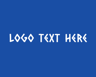 Text - Traditional Greek Text logo design