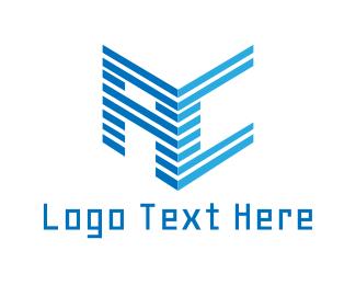 Cooling - A & C logo design