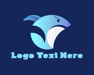 Shark - Angry Shark logo design