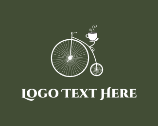 Cycle - Old Bicycle Cafe logo design