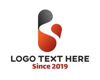 Round - Round Letter B logo design