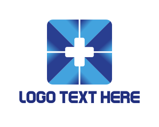 Hospital - Blue Cross logo design
