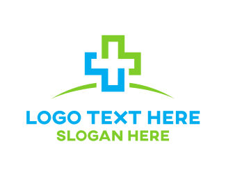 Hospital - Clinic Cross logo design