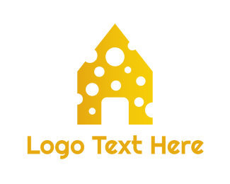 Yellow - Yellow Cheese House logo design