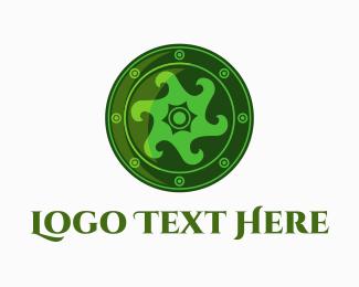 Badge - Irish Shield logo design