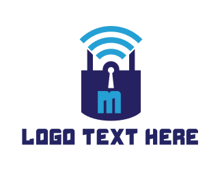 Password - Online Safe logo design