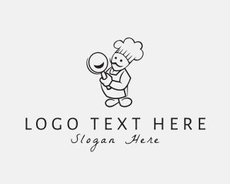 Happy - Happy Chef logo design