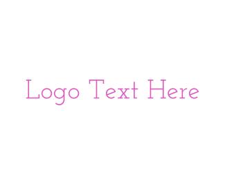 Timeless - Pink & Vintage logo design