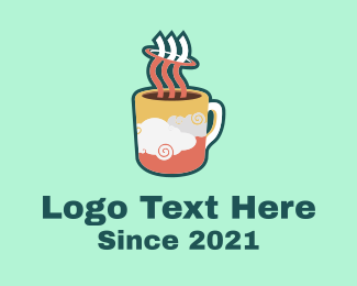 Coffee Mugs - Cloud Mug logo design