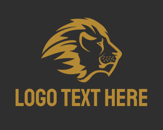 Bronze - Bronze Lion logo design