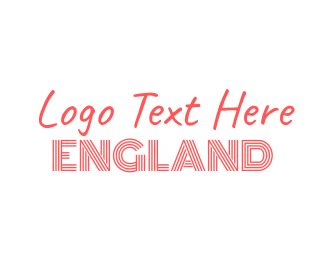 """England Text"" by BrandCrowd"