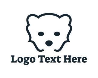 Alaska - Bear Code logo design