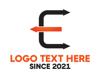 Arrows - Arrow Letter E logo design