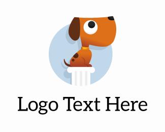 Dog Walker - Top Dog Training logo design