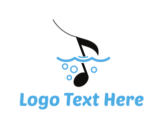 Song - Ocean Music logo design