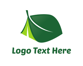 """Leaf Tent"" by gobyg"