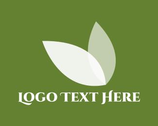White Leaves Logo