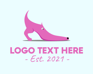 Heel - Shoe Dog logo design