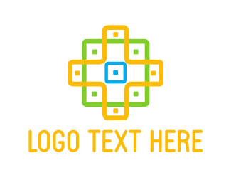 Texture - Cross Pattern logo design