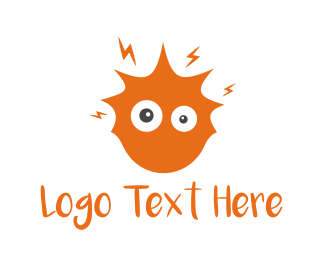 Head - Crazy Sun logo design