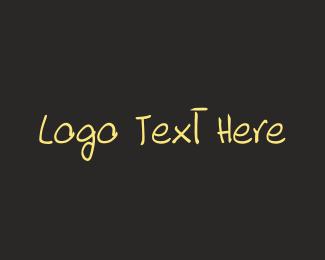 Ice Cream - Hand Drawn Font logo design