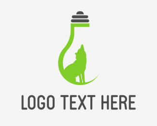 Eco Wolf Light Logo