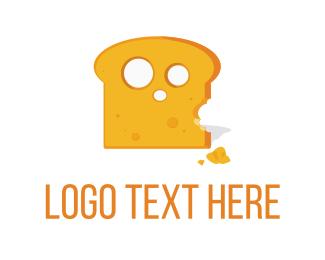 Bread - Cheese Toast logo design
