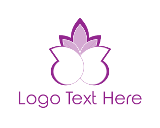 Snail - Purple Shells logo design