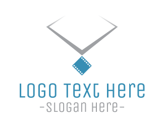 Necklace - Film Necklace logo design