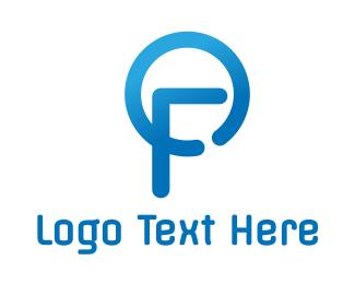Freezer - Modern Blue FO logo design