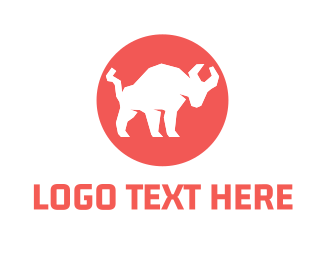 Buffalo - Bull Circle logo design