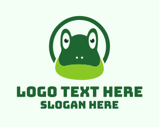 Frog - Green Toad logo design