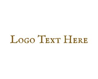 Old - Golden & Antique logo design