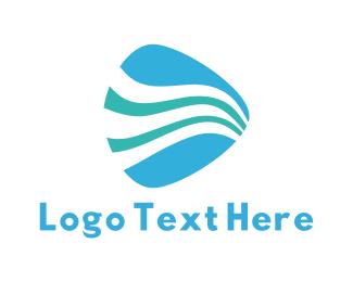 Pick - Water Pick logo design
