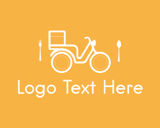 Fork - Food Delivery logo design