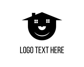 Techno - Vinyl House  logo design