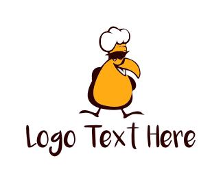 Toucan - Chef Bird logo design
