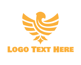 Luxury - Golden Eagle logo design