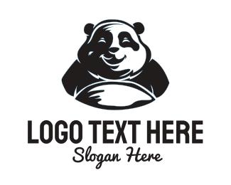 China - Happy Panda logo design