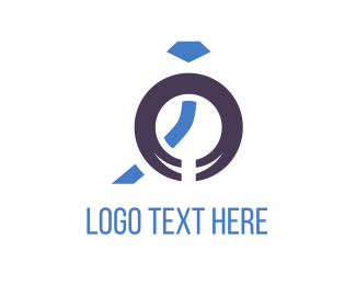 Engagement - Blue Jewelry logo design