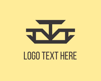Trio - Abstract Arrows logo design