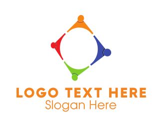 Group - Colorful Group logo design