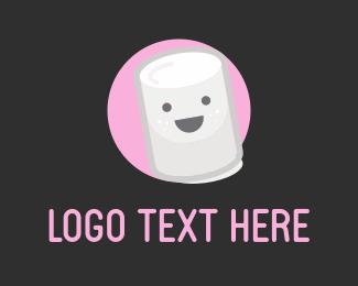 Candy - Happy Marshmallow logo design