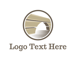 Brick - Brown Bridge logo design